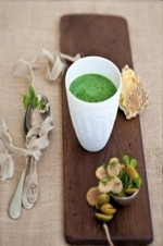 Paleo Living Spinach soup