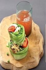 Paleo Living  seafood Salad