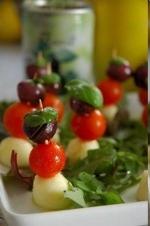 Paleo Nina Timm Caprese Salad